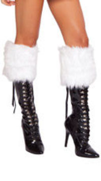 Fur Boot Toppers to make your boots look more like the Holidays!
