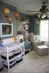 LOVE EVERYTHING ABOUT THIS NURSERY!!!