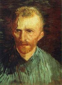 "Vincent van Gogh ""Self-portrait"" Paris, Summer, 1887"