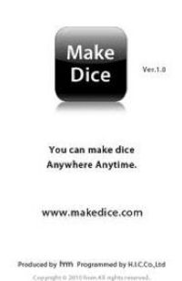 Thi is a Make dice app...add targets and roll to practice the skill.