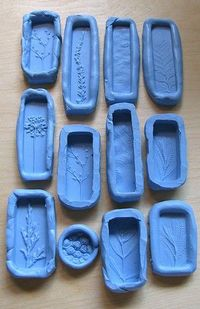 previous poster wrote: Molds by UnaOdd-Lynn. Used a product called Knead-a-Mold, from Townsend Atelier. It creates a silicone rubber mold that sets in less than 10 minutes. The final mold can be used in the oven (for polymer) and is food safe as w...
