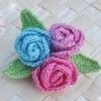 Make this beautiful crochet brooch with this free crochet pattern. It makes a great accent to a purse or a piece of clothing. DMC Traditional crochet thread is used.